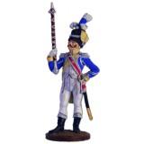 Солдатик оловянный Наполеоновские войны Драм-мажор голландских...