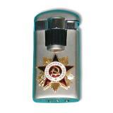 Зажигалка пьезо, газ. в ассортименте значков