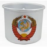 Кружка алюминиевая, Герб СССР