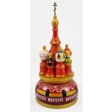 Музыкальный собор - макет Арки, красный, 21 см., невращающийся