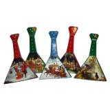 Музыкальный инструмент балалайка сувенирная малая