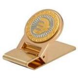 Изделия Златоуста сувенир зажим для денег, ЕВРО