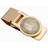 Изделия Златоуста сувенир зажим для денег, Рубль