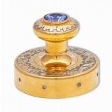 Изделия Златоуста сувенир печать украшенная с камнем