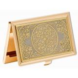 Изделия Златоуста сувенир визитница, Орнамент