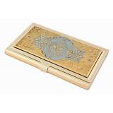 Изделия Златоуста сувенир визитница, символика ФСБ