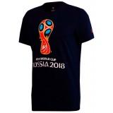 Чемпионат мира по футболу 2018 ЧМ 2018 Футболка с символикой,...