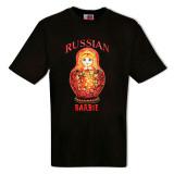 Футболка M женская, Русская Барби, М