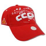 Головной убор Бейсболка СССР, красная