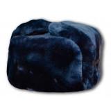 Головной убор шапка меховая мутон, полиция