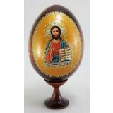 Товары к Пасхе яйцо-икона, Господь Вседержитель, 11х5
