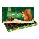 Шоколад Конфеты в коробке Бабаевская Белочка с дробленым...