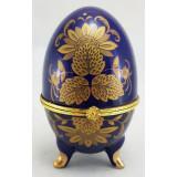 """Яйцо пасхальное фарфоровое JBE143-4 Шкатулка яйцо фарфоровое """"Три..."""