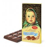 Шоколад молочный, шоколадная плитка Алёнка, 100