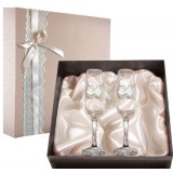 Подарок с гравировкой Свадебные бокалы 050503043/1, Набор...