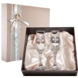Подарок с гравировкой Свадебные бокалы 050503031/1, Набор...