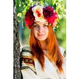 Русский народный костюм Венок Весна ВЕС-00-00-00, 10 см