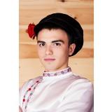 Русский народный костюм Картуз мужской КВА-02-14-01, единый