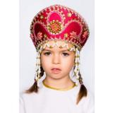 Русский народный костюм КОКОШНИКИ Кокошник Алина АЛИ-00-10-00, 11 см