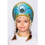 Русский народный костюм КОКОШНИКИ Кокошник Алина АЛИ-00-04-00, 11 см