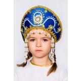 Русский народный костюм КОКОШНИКИ Кокошник Алина АЛИ-00-02-00, 11 см