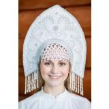 Русский народный костюм КОКОШНИКИ Кокошник Анна АНН-00-11-00, 16 см