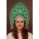Русский народный костюм КОКОШНИКИ Кокошник Анна АНН-00-08-00, 16 см