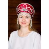 Русский народный костюм КОКОШНИКИ Кокошник Виктория ВИК-00-01-00,...