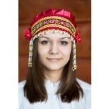 Русский народный костюм КОКОШНИКИ Кокошник Инна ИНН-00-10-00, 6 см