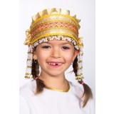 Русский народный костюм КОКОШНИКИ Кокошник Инна ИНН-00-09-00, 6 см