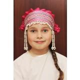 Русский народный костюм КОКОШНИКИ Кокошник Инна ИНН-00-06-00, 6 см