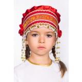 Русский народный костюм КОКОШНИКИ Кокошник Инна ИНН-00-01-00, 6 см