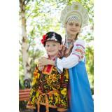 Русский народный костюм КОСОВОРОТКИ Косоворотка хохлома...