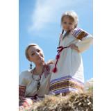 Русский народный костюм РУБАХИ ЖЕНСКИЕ ВАС-00-00-00, рост 110-116