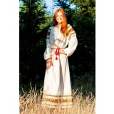 Русский народный костюм РУБАХИ ЖЕНСКИЕ ВАС-00-00-00, р. 56-58