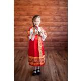 Русский народный костюм САРАФАНЫ Сарафан Алёнушка АЛН-00-01-00, р...