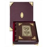 Подарок с гравировкой Фотоальбомы 0110601002, Фотоальбом кожаный с...
