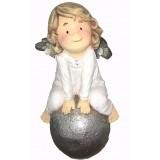Подарок с гравировкой Садовые фигуры и кашпо Статуэтки Ангелы 633,...