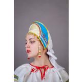 Русский народный костюм КОКОШНИКИ Кокошник  Ирина Ира 00-03-00, 11см