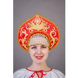 Русский народный костюм КОКОШНИКИ Кокошник Калинка Клм 00-01-00,...