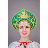 Русский народный костюм КОКОШНИКИ Кокошник Калинка Клм 00-08-00,...