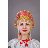 Русский народный костюм КОКОШНИКИ Кокошник  Ольга Олг 00-01-00, 12