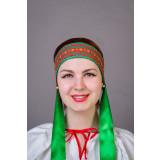 Русский народный костюм КОКОШНИКИ Повязка  Наталья ПНА-00-08-00,...