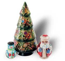 Новый Год и Рождество 3 места елочка ПГ