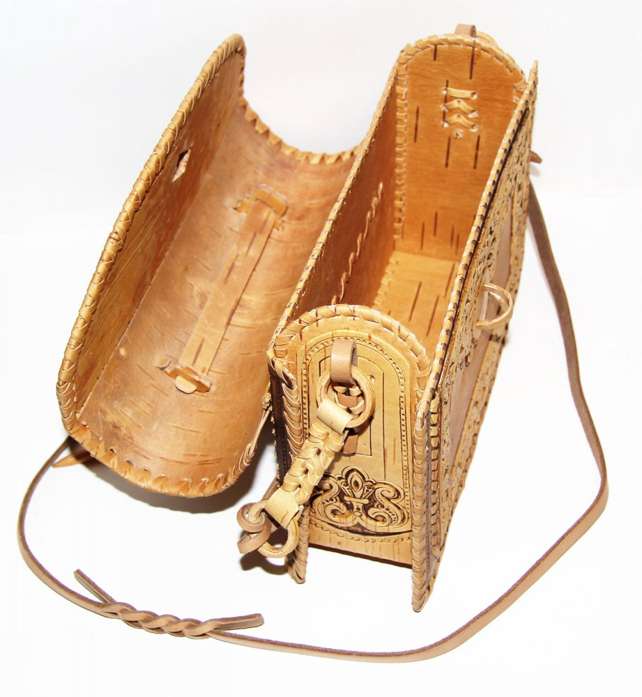 Береста сумочка женская оригинальная, 24 x 21 x 8