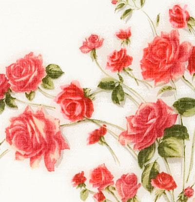"Платок Павловопосадский с шелковой бахромой 146 x 146 1227-1 ""Розы на снегу"", вид 1"