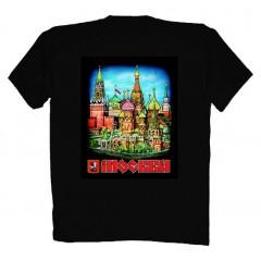 Футболки M ФСД 45 Москва Красная Площадь M черная