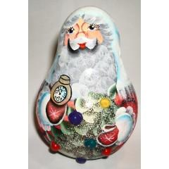 Новый Год и Рождество неваляшка Дед Мороз