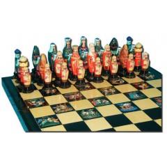 Шахматы Палех расписная доска