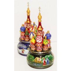 Музыкальный собор - макет Русский Север, вращающийся, 21
